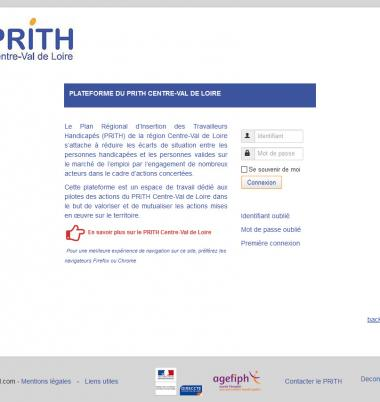 Plateforme documentaire prith-cvl